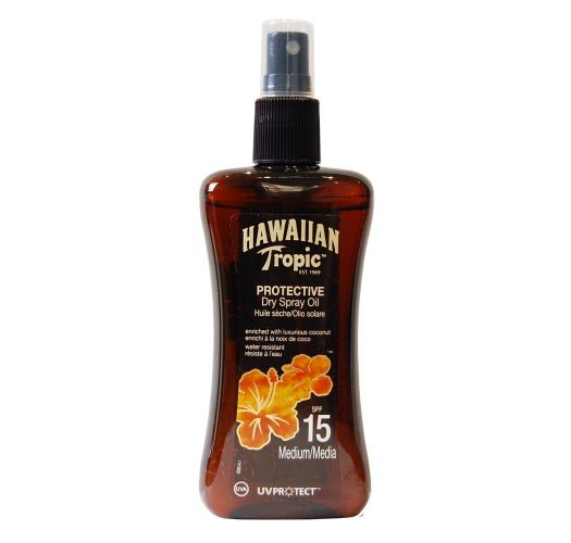 HAWAIIAN TROPIC BRONZING OIL - Spray 200ml SPF 15